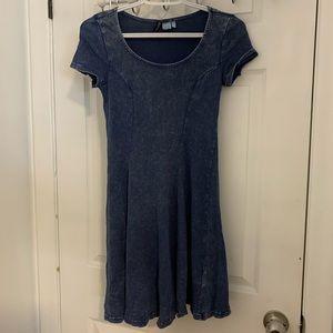 H&M Acid Washed Dress